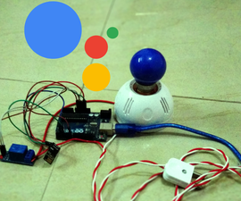 Control House Lights With Google Assistant Using Arduino