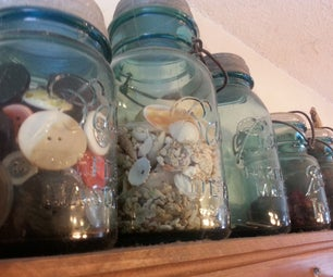 Mason Jar Collection Containers