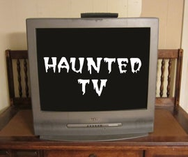 Haunted TV Prank