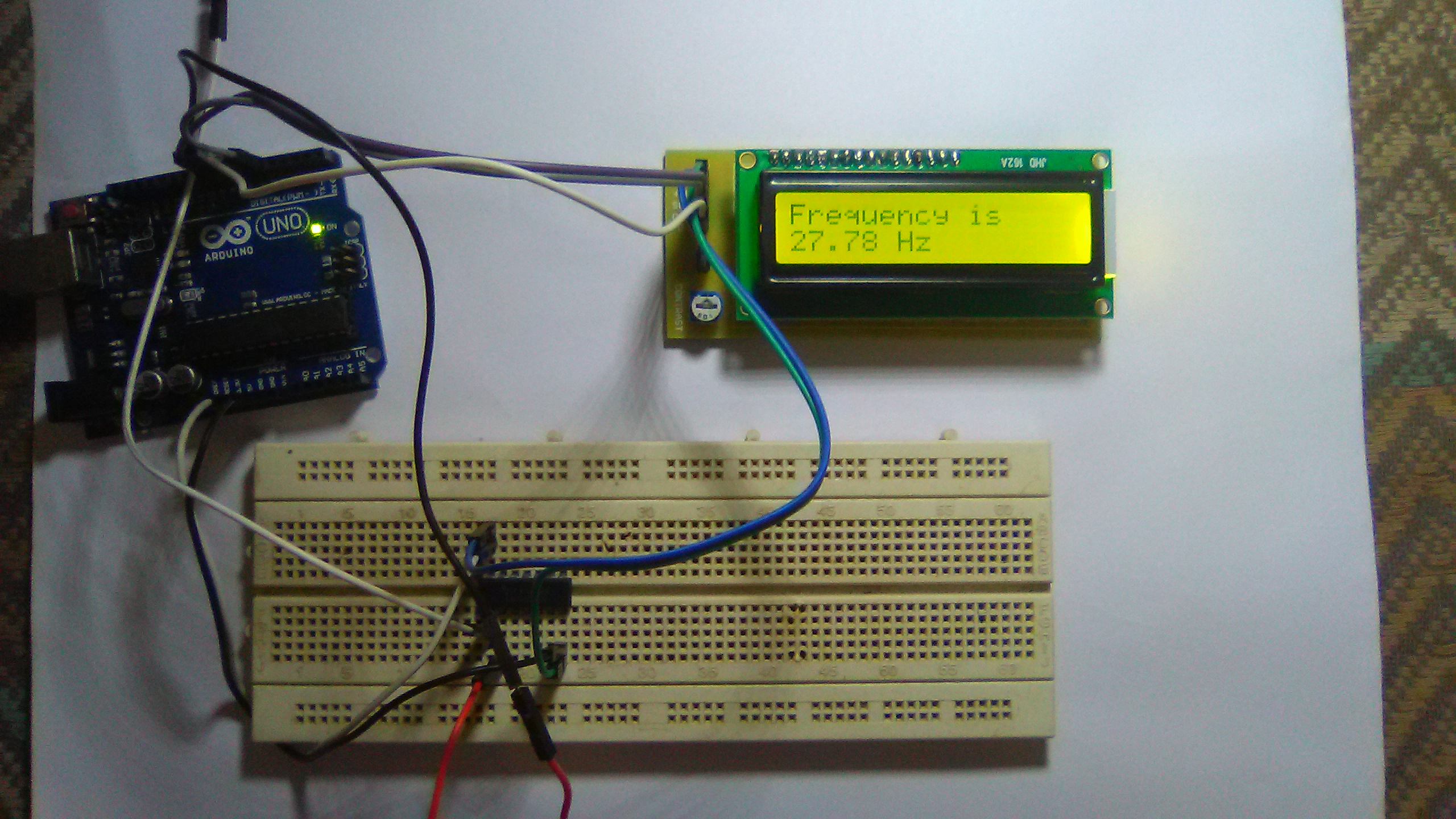 Picture of Arduino Frequency Counter
