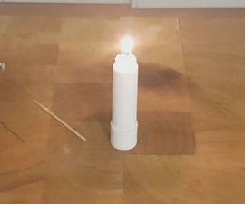 Stick of Lip Balm Emergency Candle