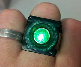 Mod your Green Lantern movie ring and make it glow!
