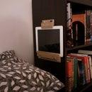Bookshelf iPad Stand (or: How lazy I REALLY am...)