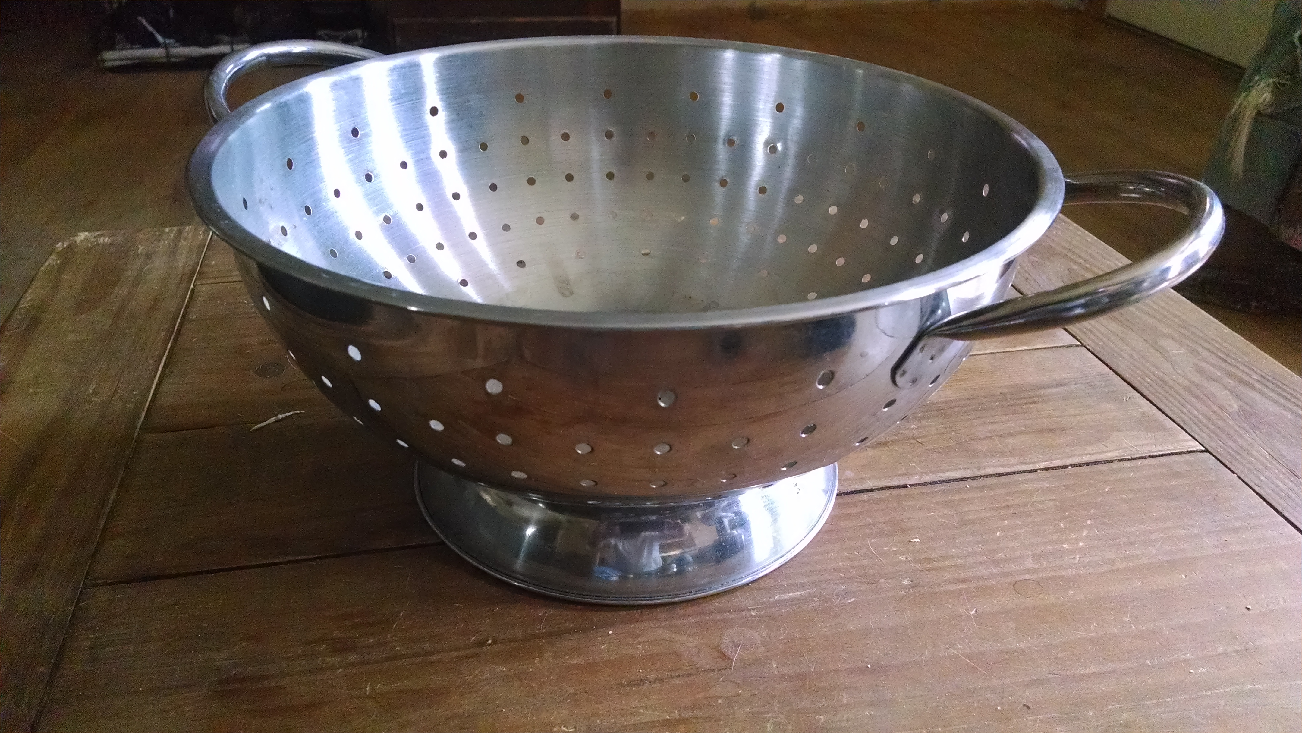 Picture of Prepping the Colander