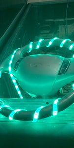 LED Strip Steering Wheel