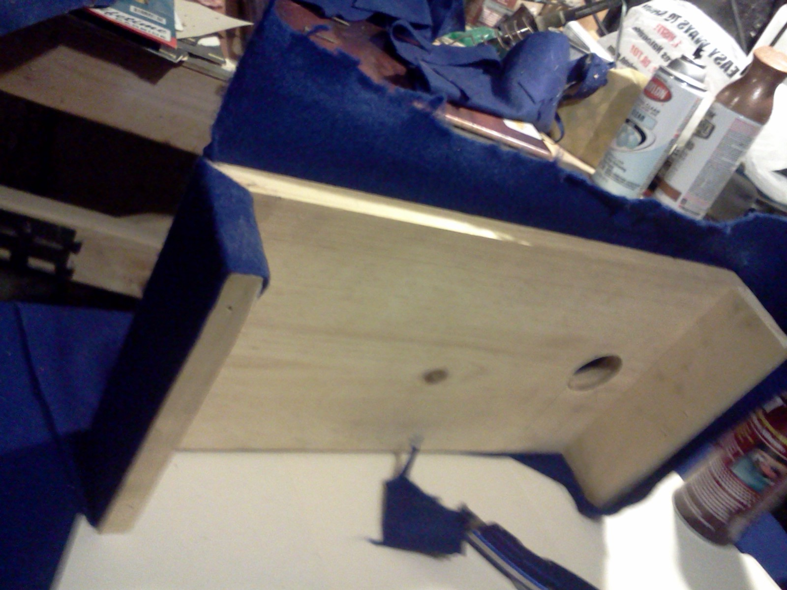 Picture of Adding Felt to Soften All the Hard Edges and to Get a Finished Look