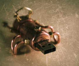 YASUS: Yet Another Steampunk USB Stick