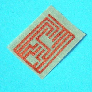 Etching Conductive Fabric