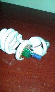 Lâmpada Led Adaptada No Soquete E27