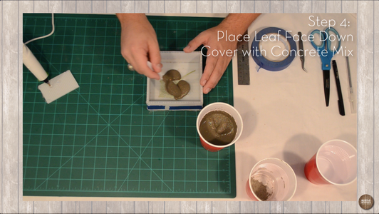 Place Leaf and Pour
