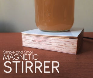 Simple and Small Magnetic Stirrer