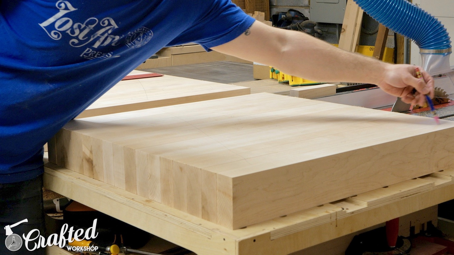 Picture of Square Up Pieces for Table Top Lamination
