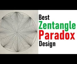 How to Draw Zentangle Paradox