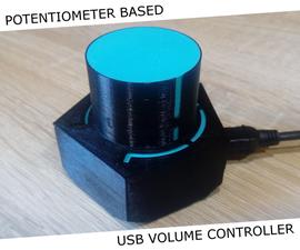 USB卷控制器 - 基于电位计