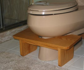 This Footstool Is a Better Way to Use the Toilet