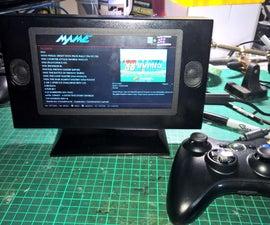 Portable Pi video game machine