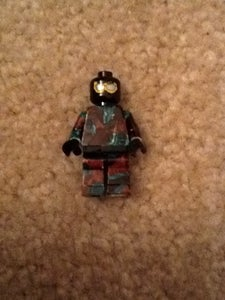 How to Make a Camoflaged Lego Figure