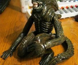 H.R. Giger's Alien in Sculpy