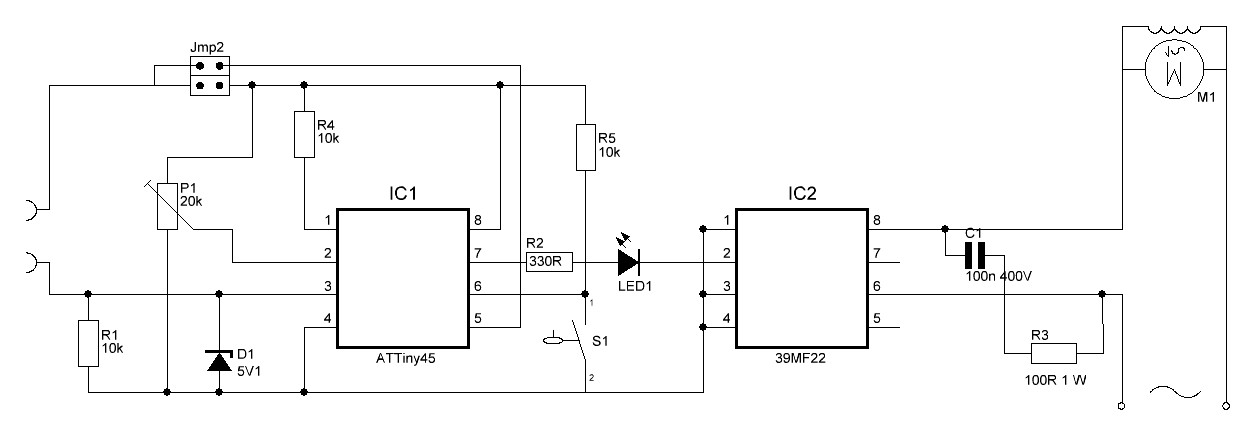 Picture of Watering Your Plants With an Attiny Microcontroller