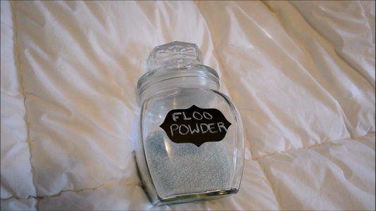 Floo Powder Harry Potter DIY   CassKnowlton