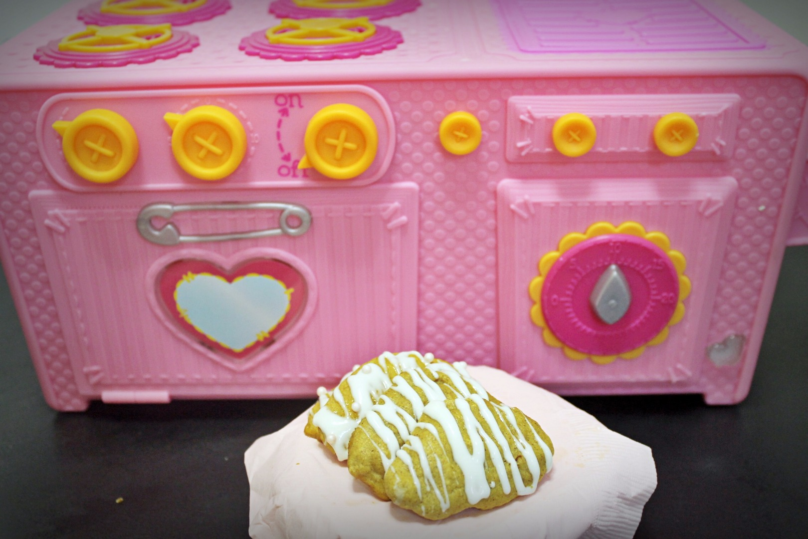 Picture of Pumpkin Scones ~ Lalaloopsy Baking Oven