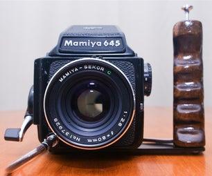 Shutter Grip for Your Medium Format Camera