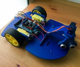 Obstacle Avoiding Robot Using Ultrasonic Sensor