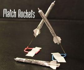 How to Make a Match Rocket