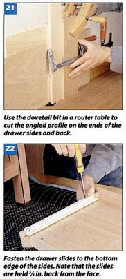 Picture of Drawer Construction