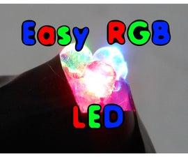 Poor Man's RGB LED