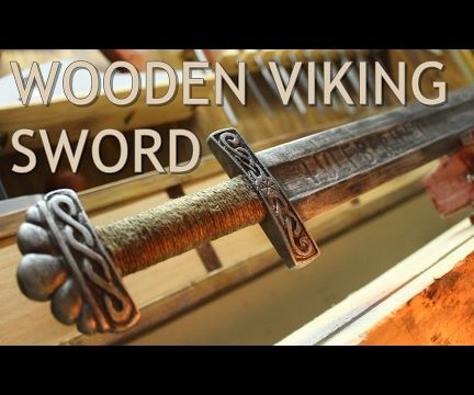 Real Metal Looking Sword Out of Pallet Wood