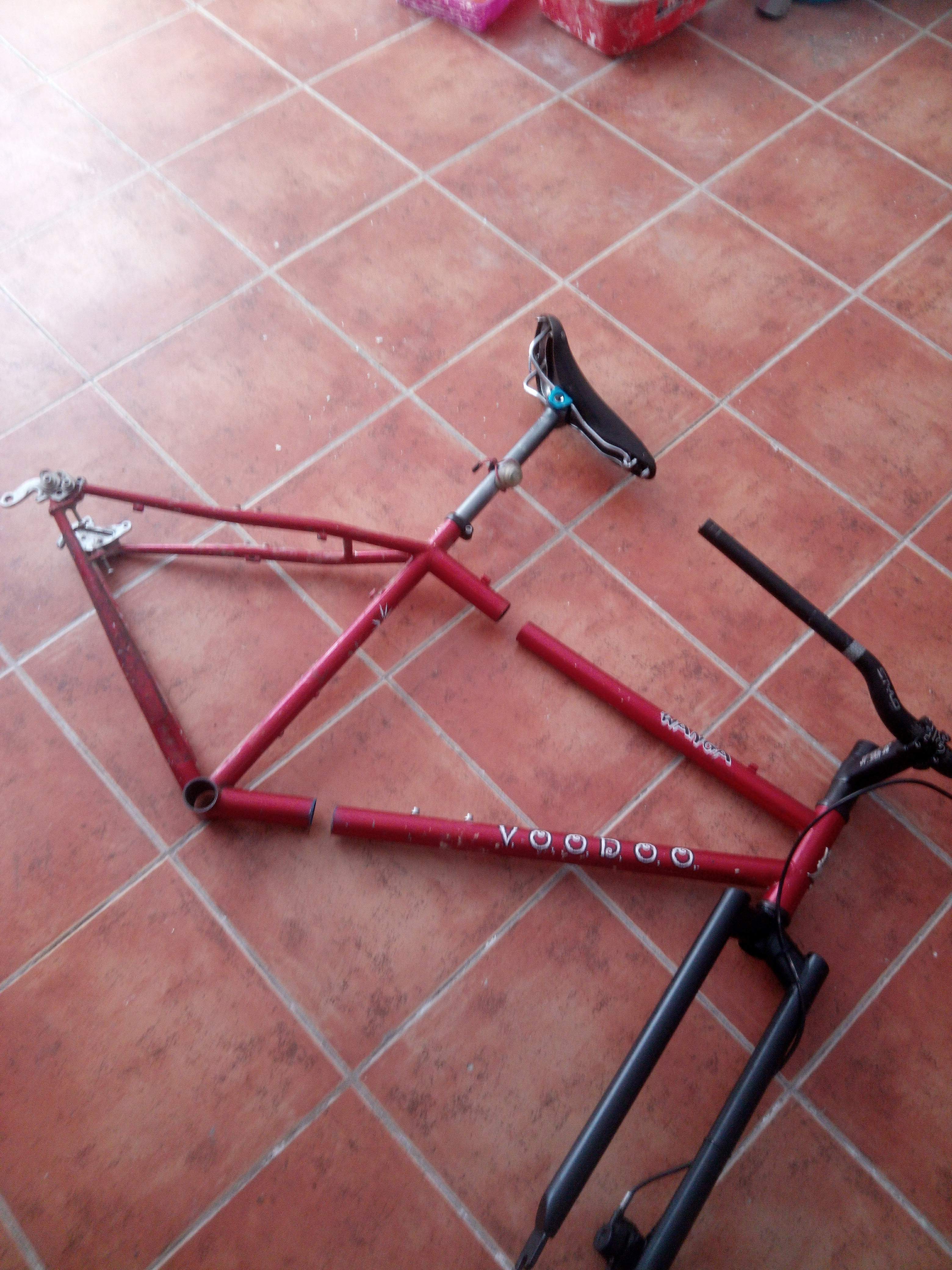 Picture of Split Bicycle Frame for Travelling