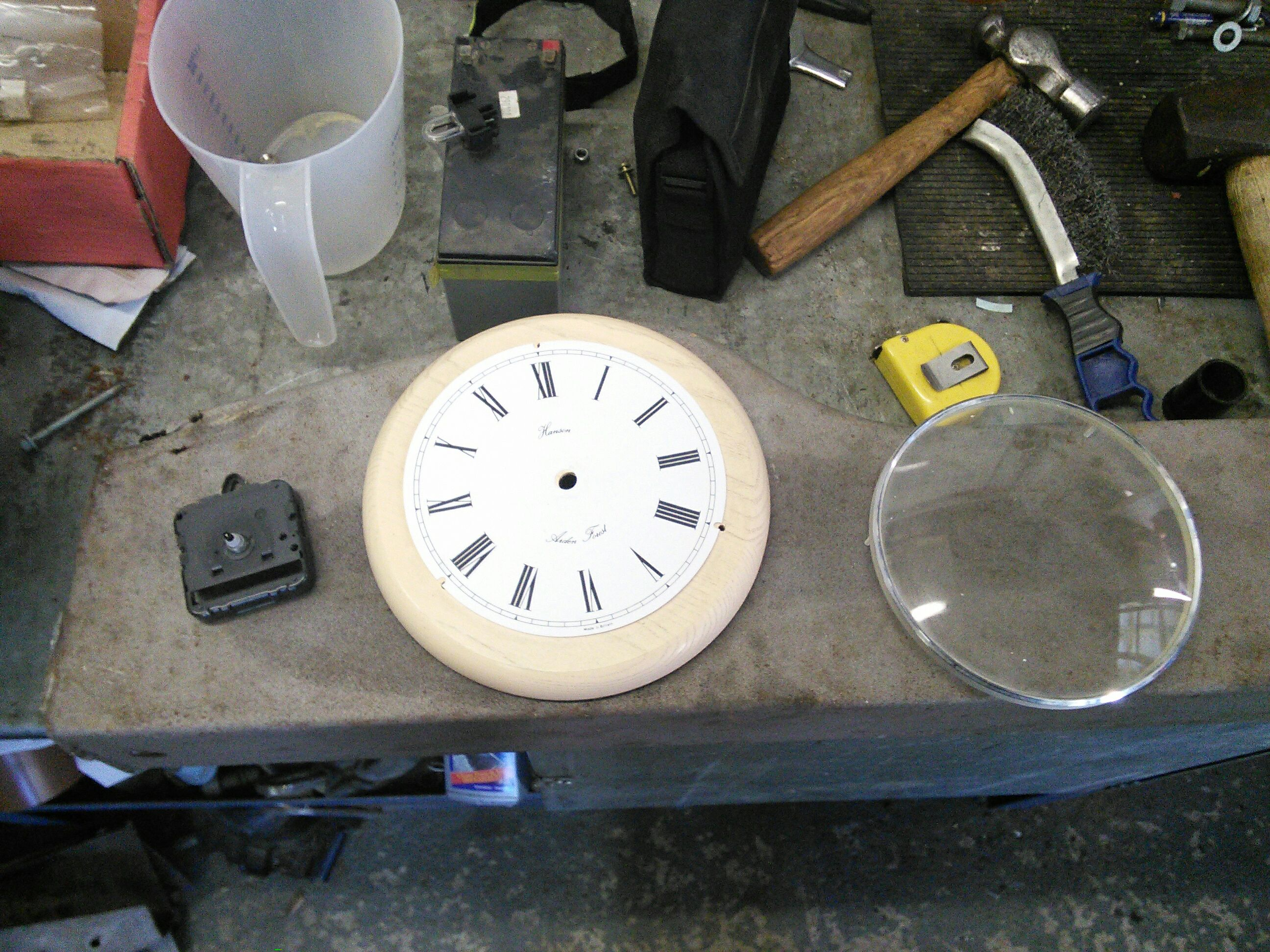 Picture of Strip Apart the Clock Housing
