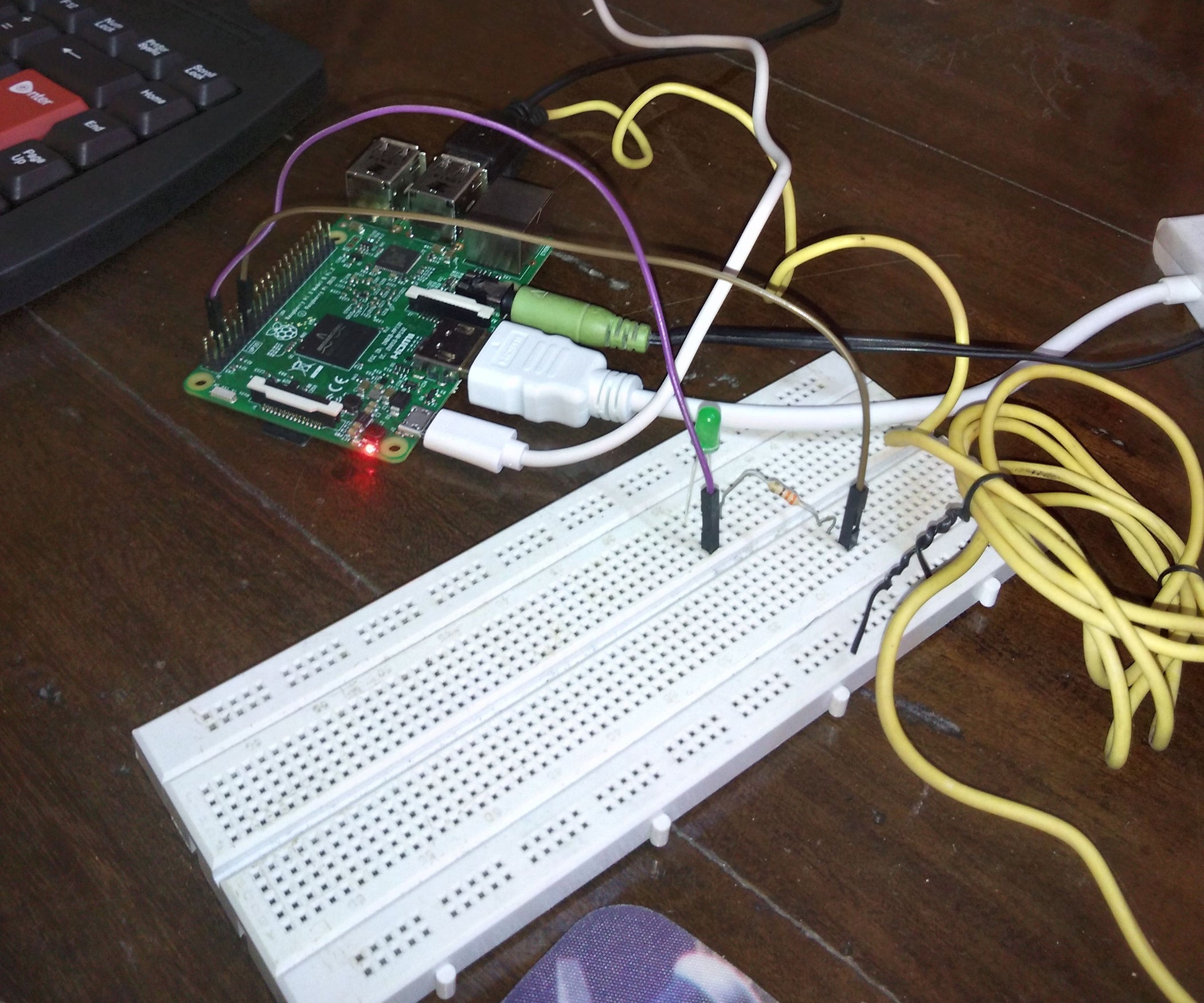 Wifi Controlled Led Using Raspberry Pi 3 7 Steps Wiringpi Nanopi