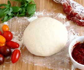 Super Simple Pizza Dough Recipe