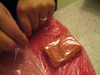 Picture of Wrapping the Sandwiches