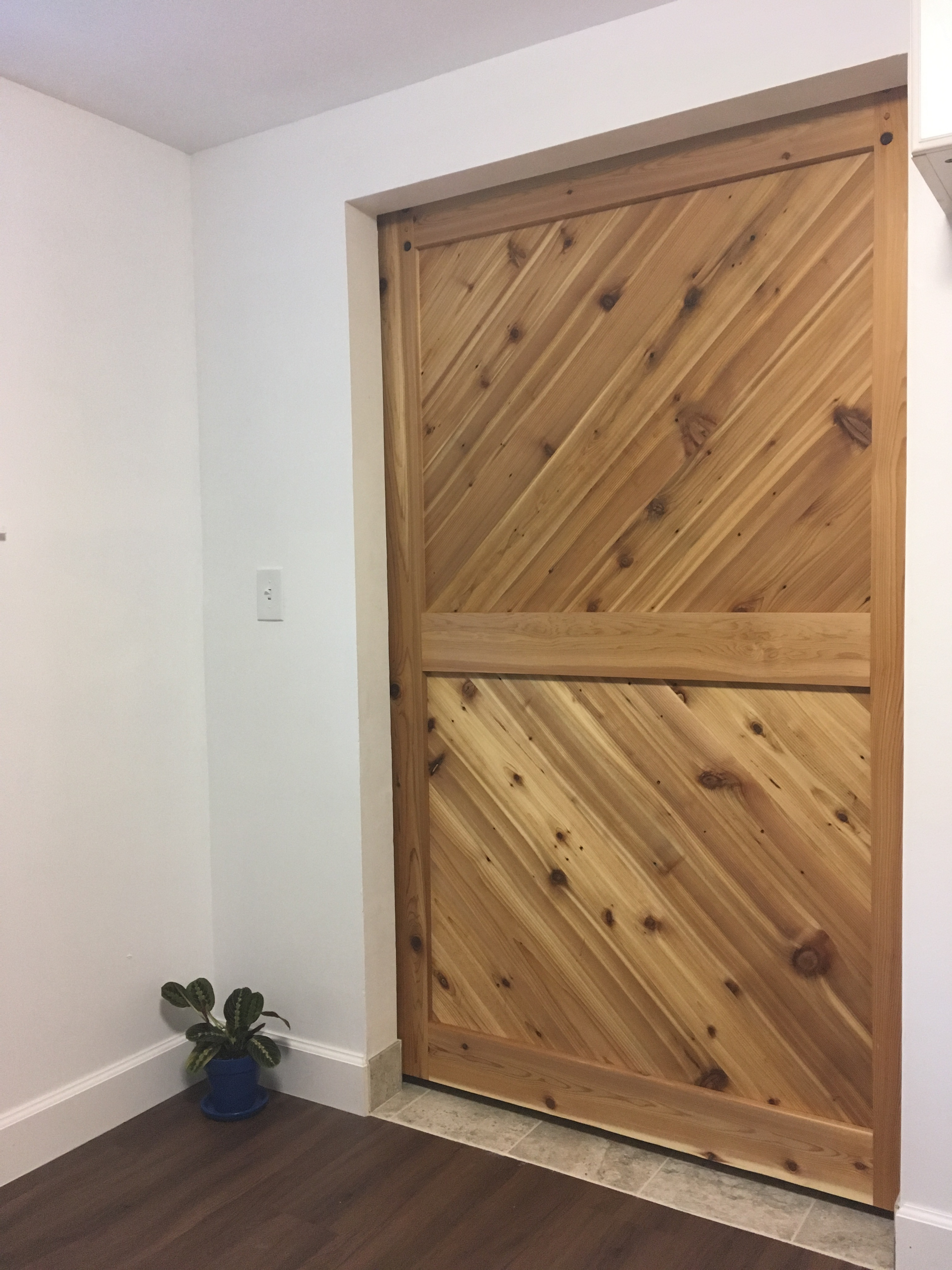 Picture of Cedar Barn Door