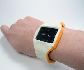 TfCD 3d Scanned Wrist: Custom 3d Printed Watch
