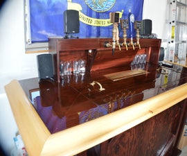 (Moveable) Home Bar Build!