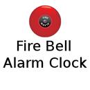 Fire Bell Alarm Clock