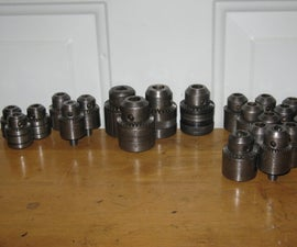Rebuilding Keyed Drill Chucks