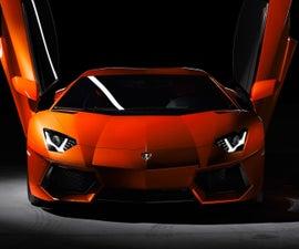 Lamborghini plane