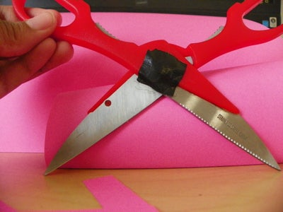 Holding the Scissors and Making the Confetti