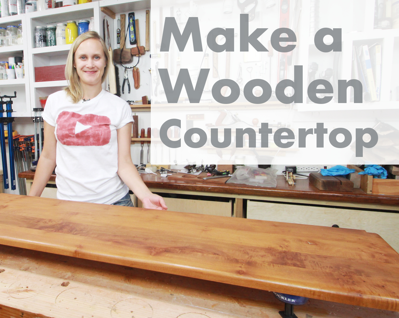 Picture of How to Make a Wooden Countertop