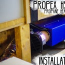 How to Install a Propex HS2000 Heater in a Camper Van Conversion