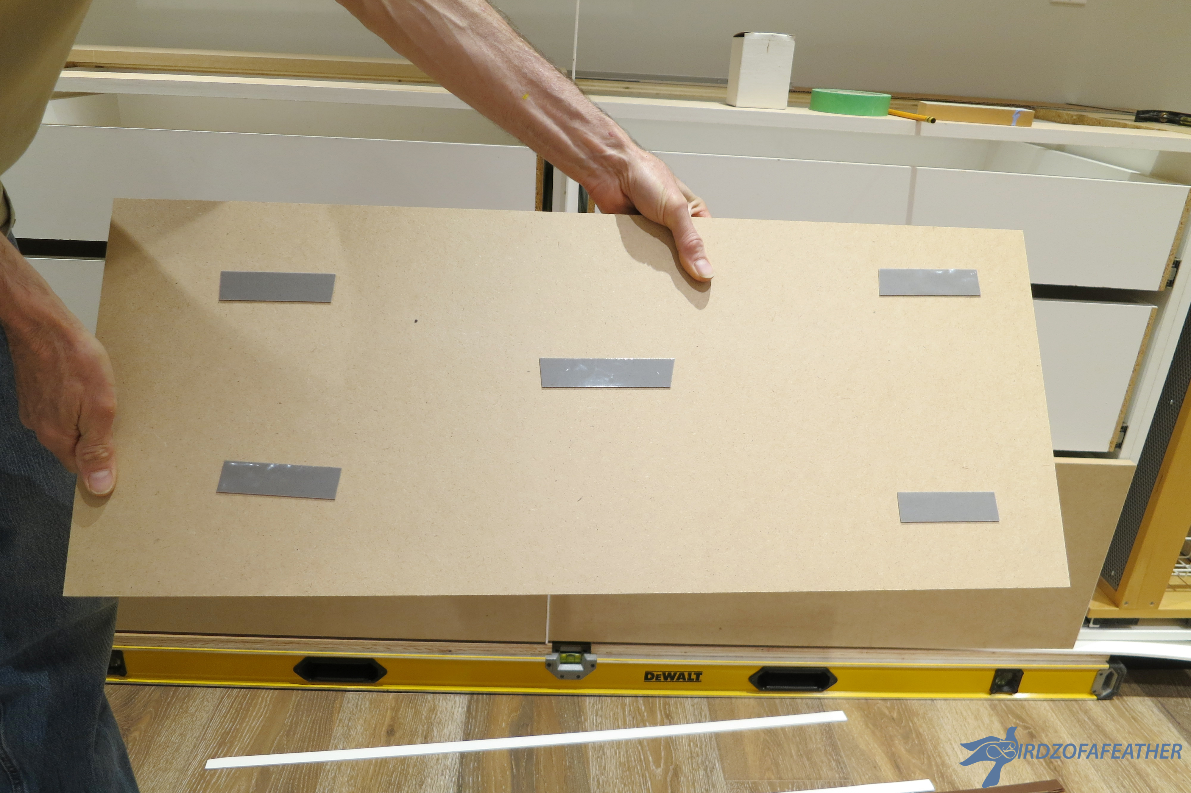 Picture of Install Drawers / Prepare MDF
