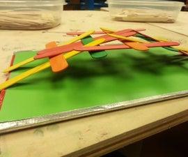 Da Vinci Popsicle Stick Bridge