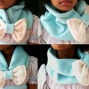 Chunky Bow Neck Warmer