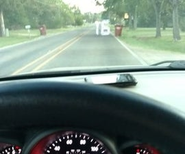 Smartphone Heads Up Display for Car