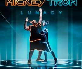 MickeyTron Lunacy: Homemade El-Wire Costumes
